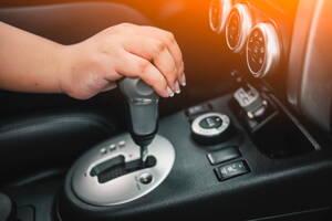 Carro con transmisión automática
