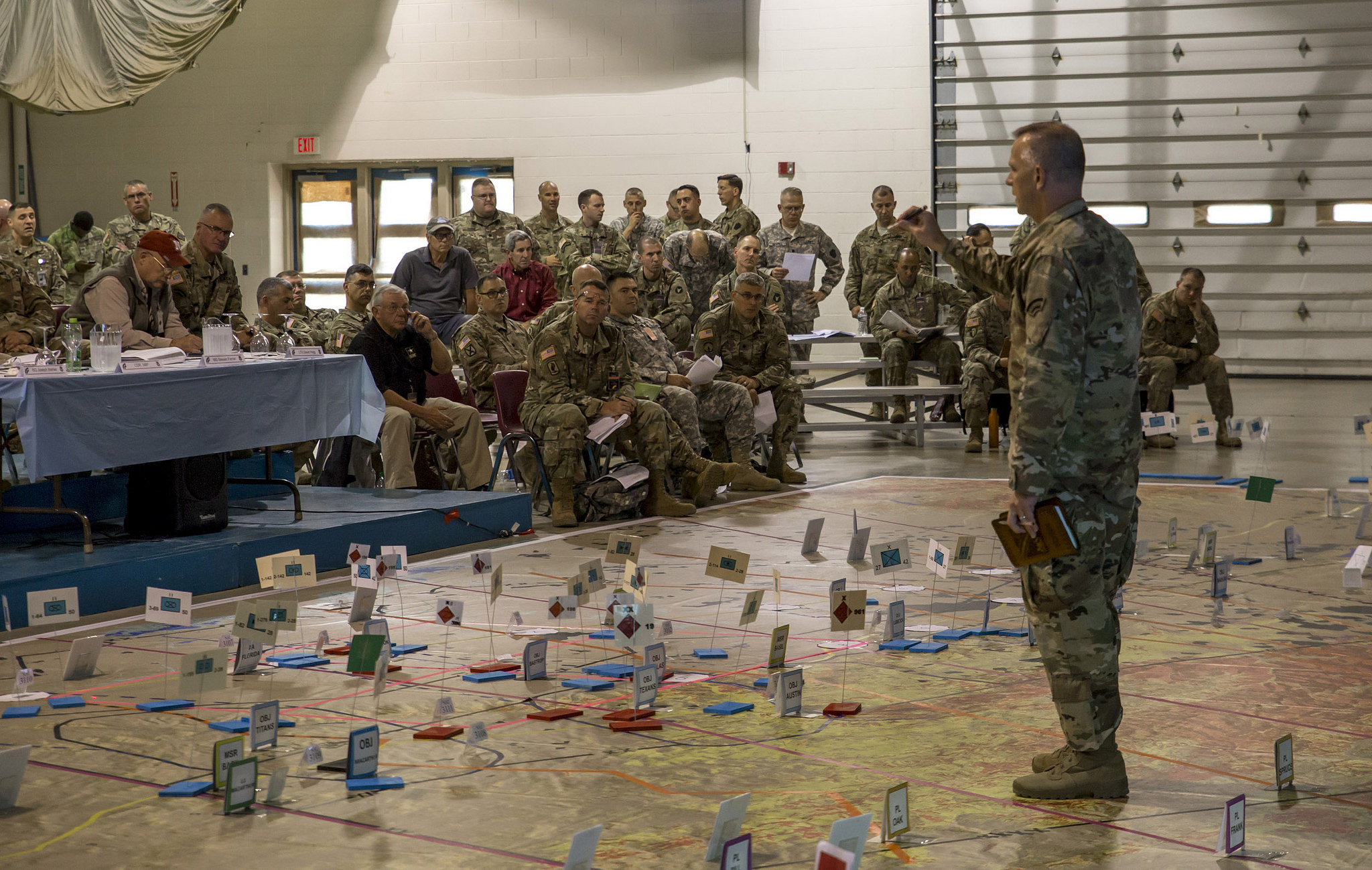 NY Army National Guard Soldiers converge on Fort Drum this