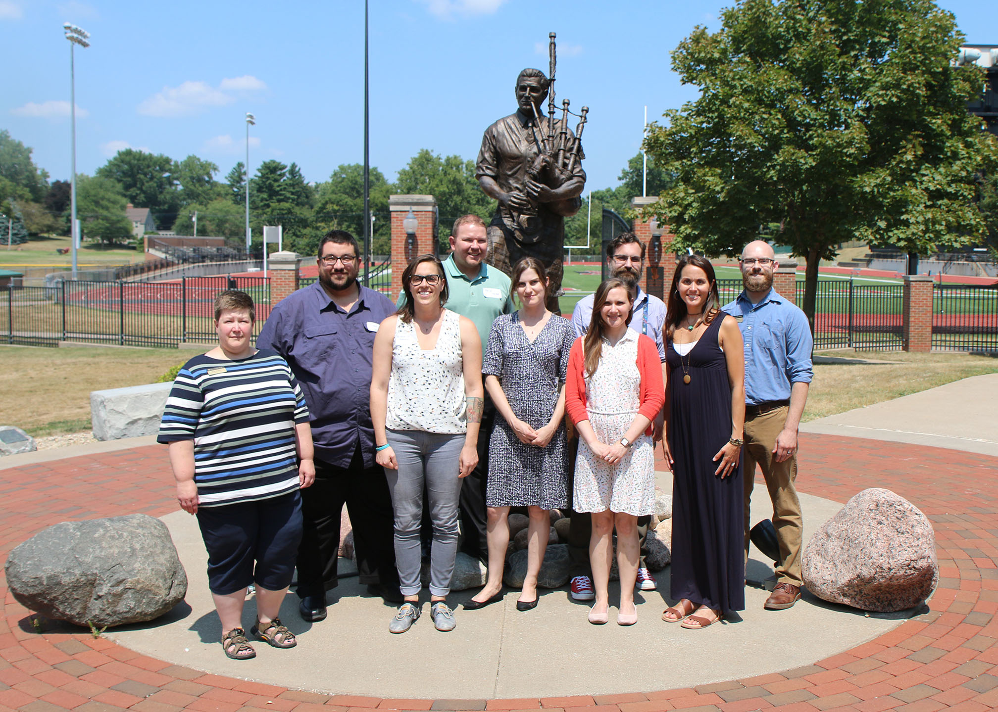 Monmouth College welcomes seven new faculty members to start