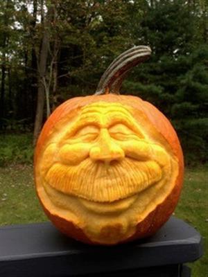 Carve a pumpkin at ncc