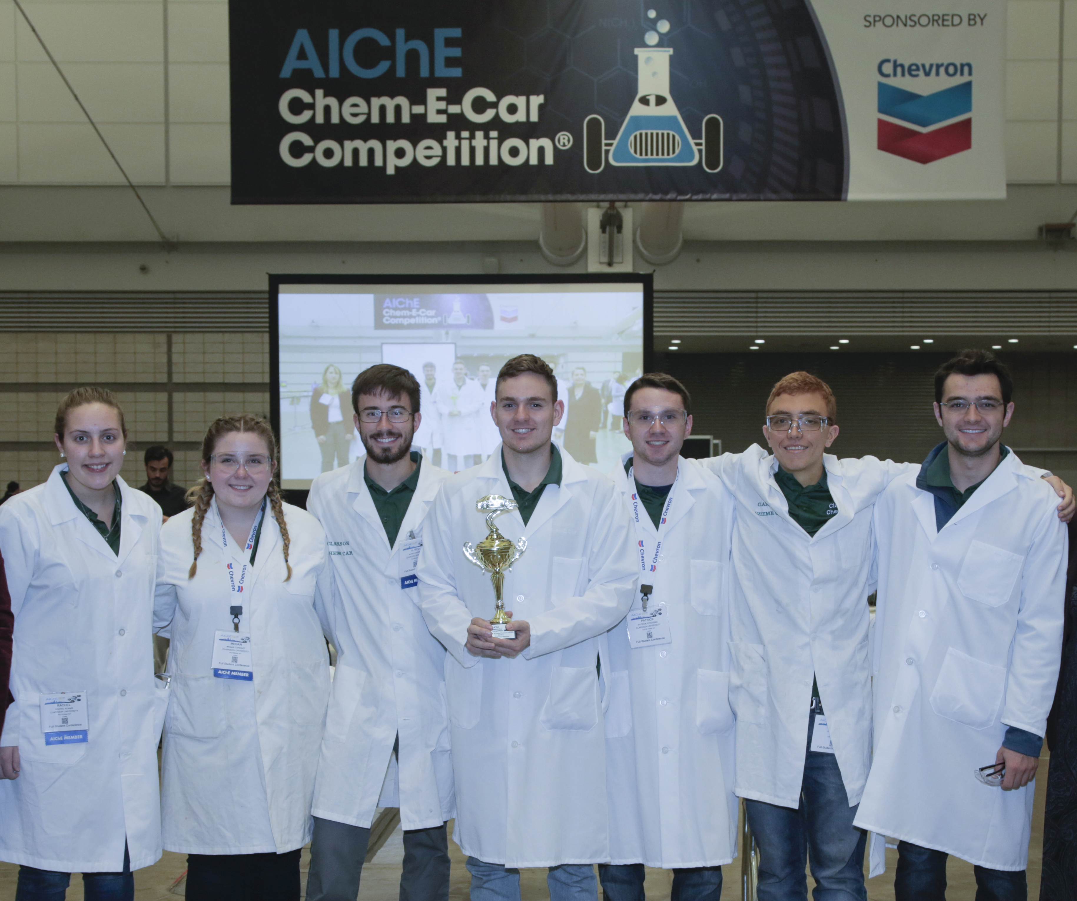 Clarkson Chem-E Car Team Places 4th in National Event