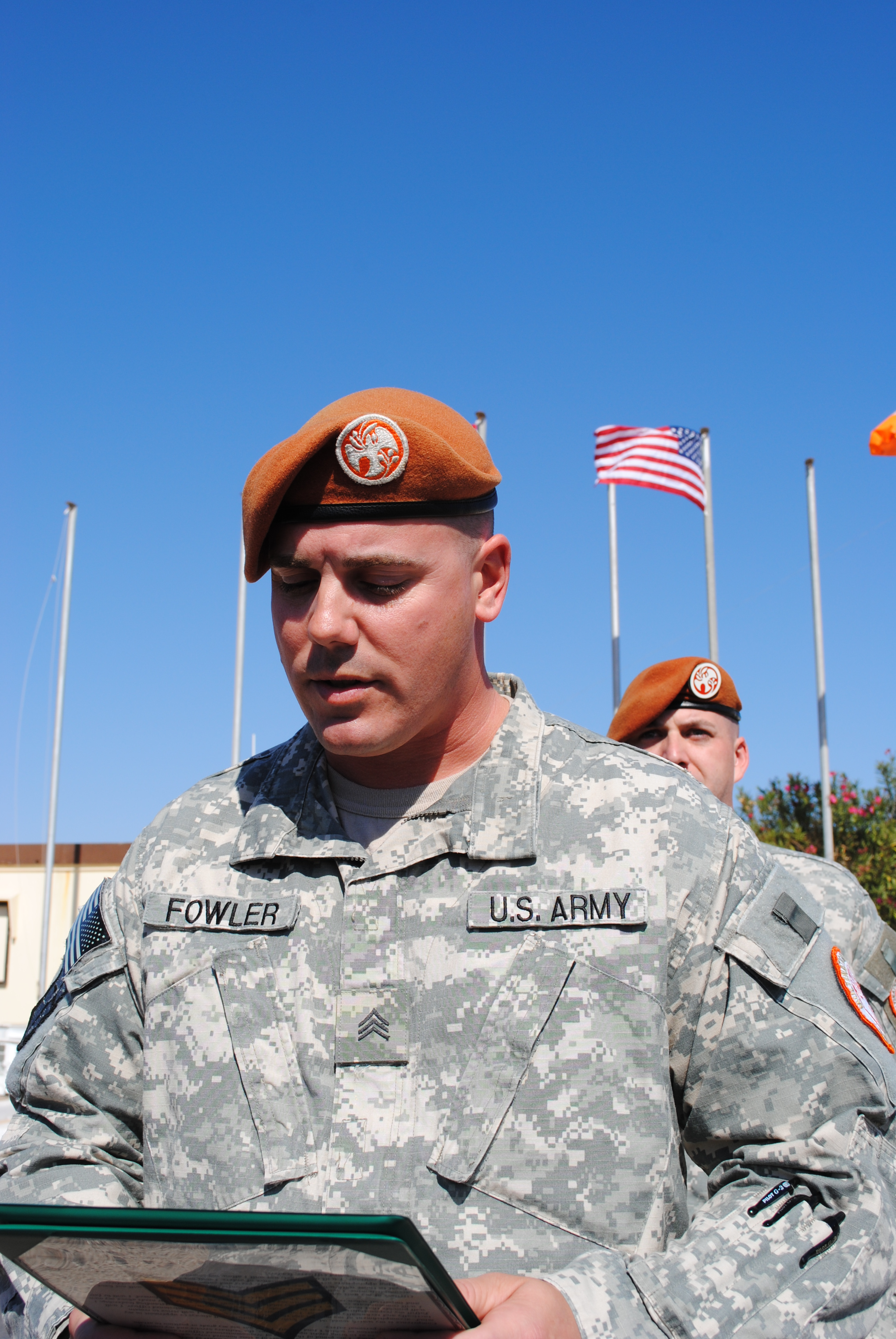 Illinois Army National Guard Soldier Promoted, Another Awarded