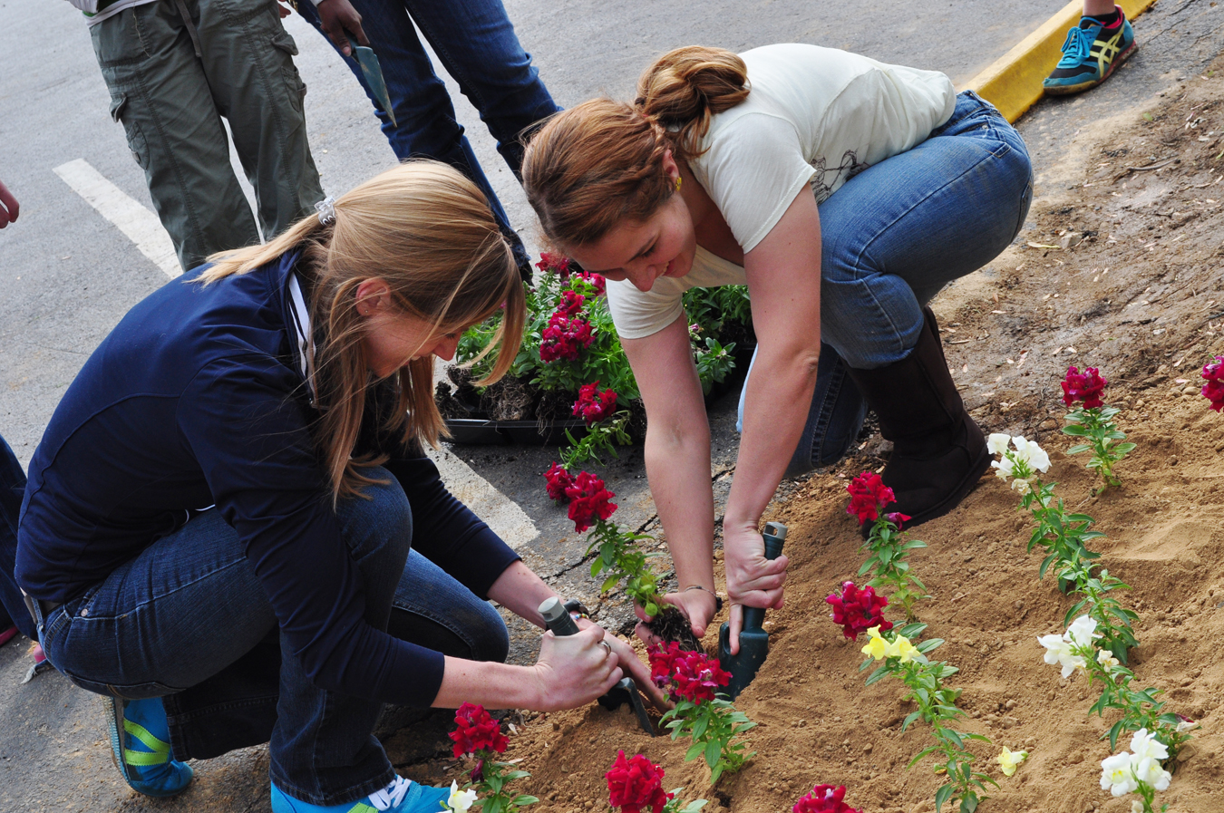 campbellsville university s earth day is celebrated with