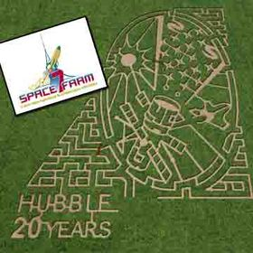 Hubble_space_telescope_adventre_corn_maze_at_liberty_ridge_farm