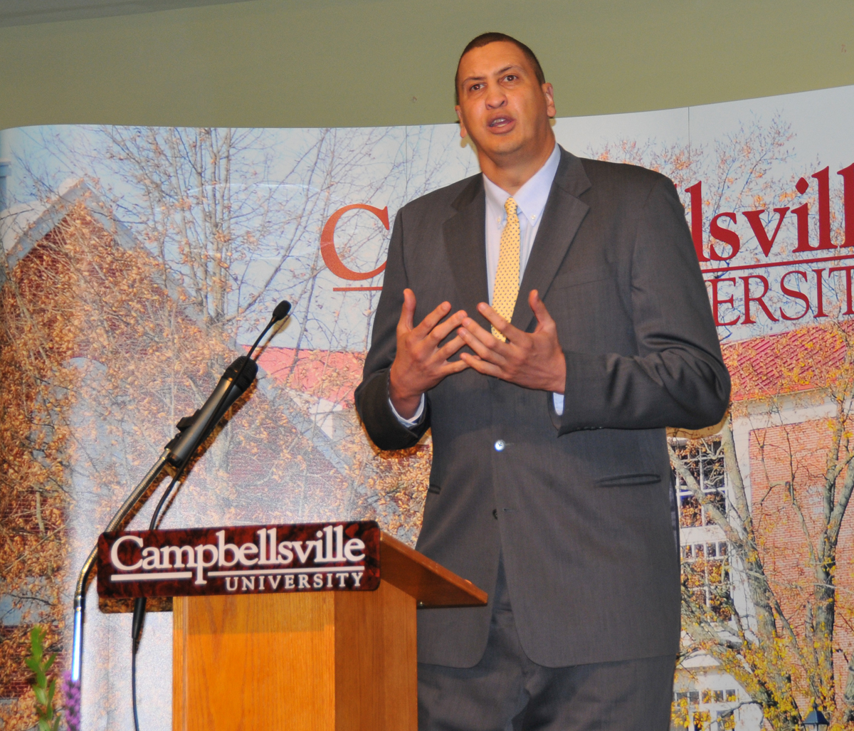 Former UK NBA Basketball Star Sam Bowie Encourages CU President s