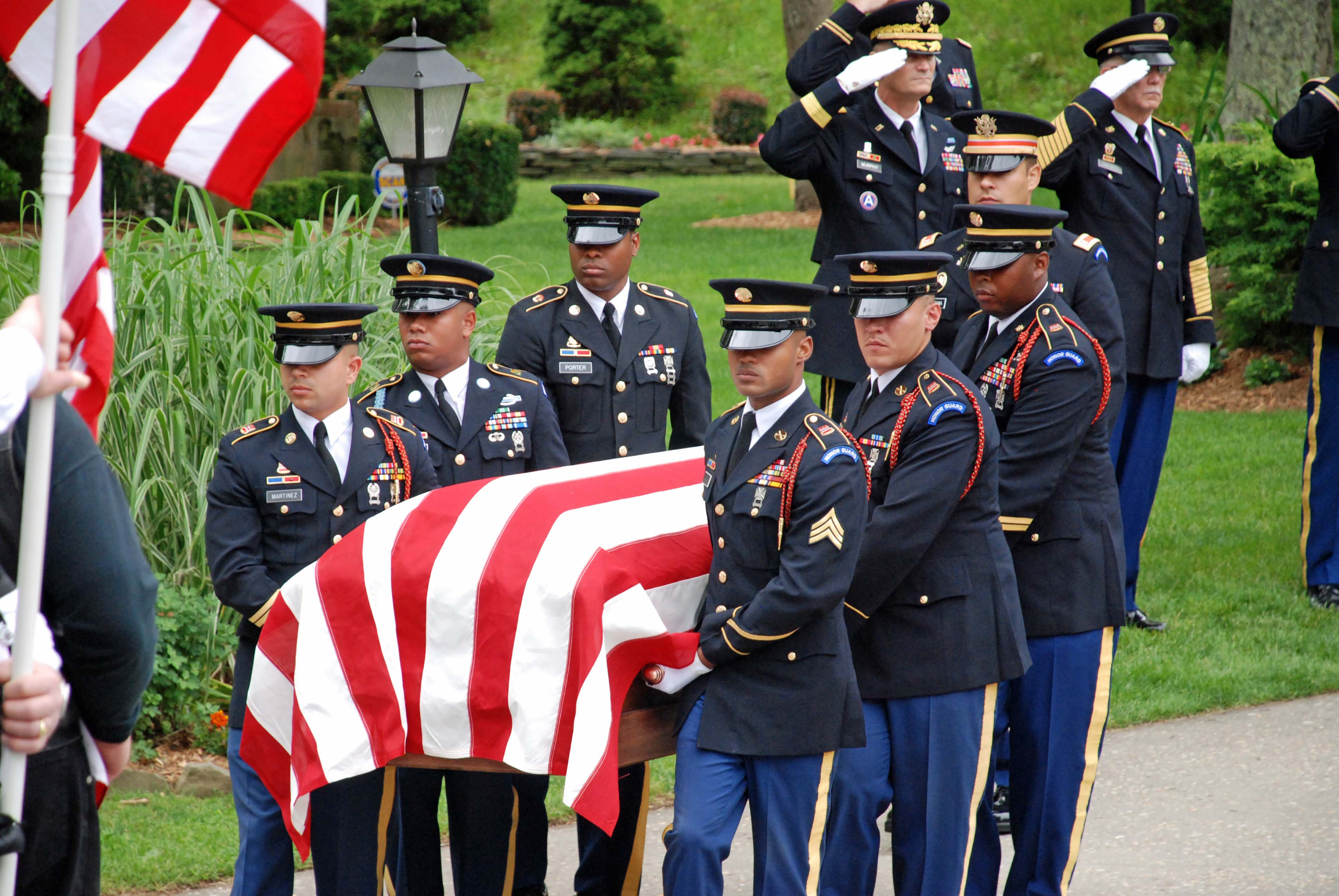 Where Is Princess Diana Buried New York Military Forces Honor Guard Performs Record