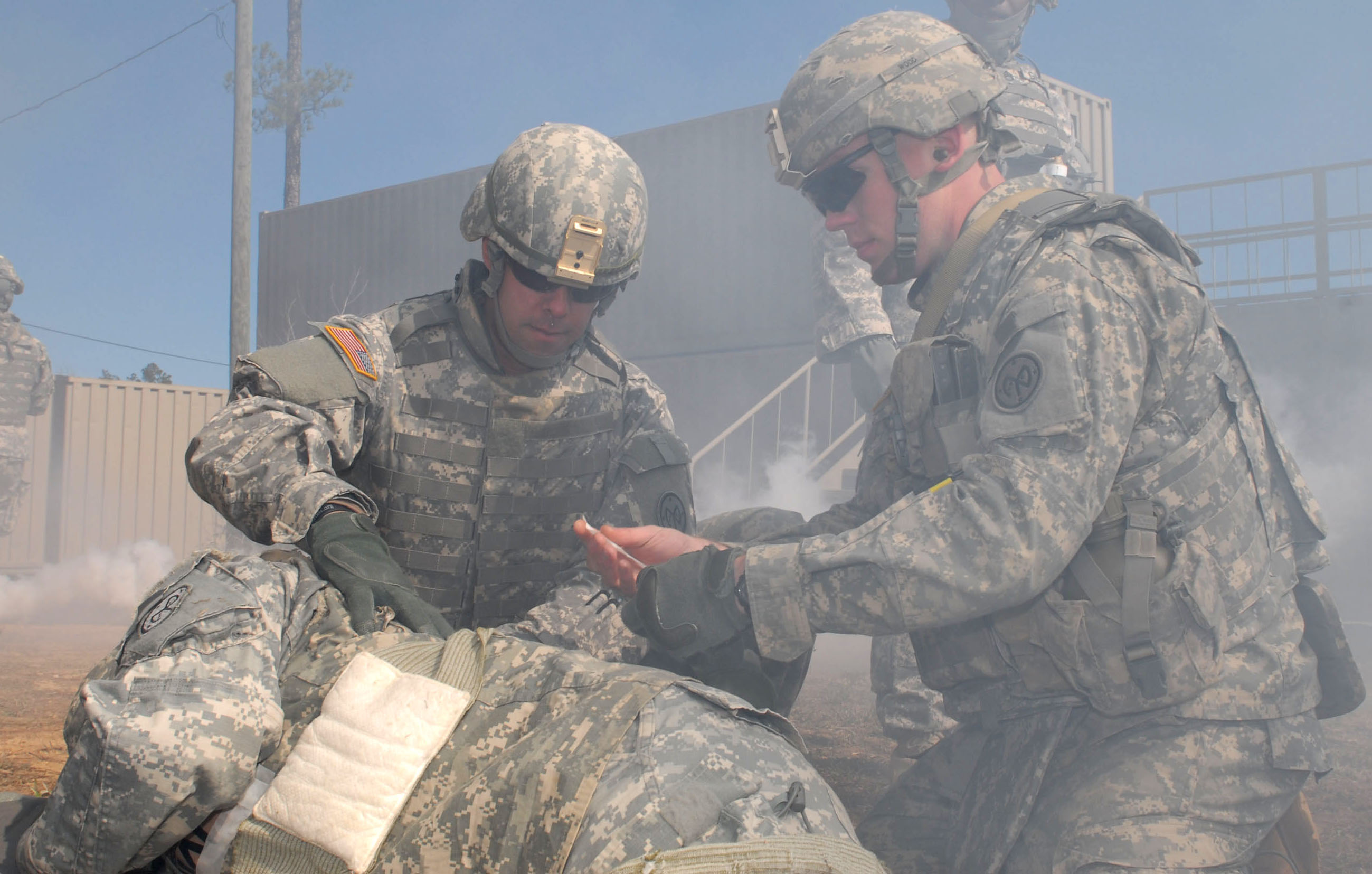 Deploying national guard soldiers certified as combat for Collection master cls