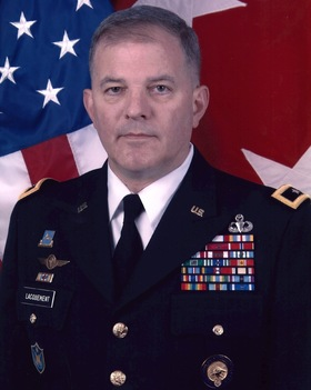 U.S. Army Retired Major General David B. Lacquement of ...
