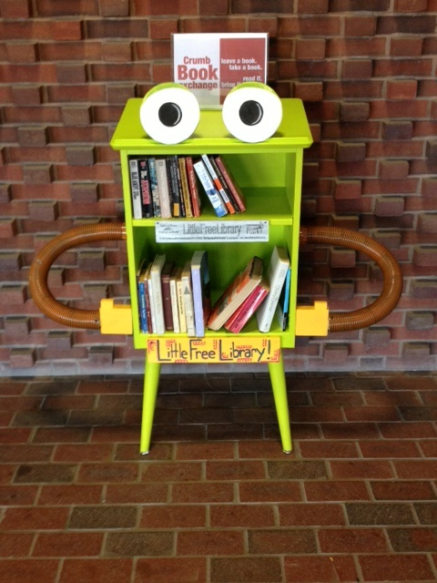 Quite Unpredictable Little Free Libraries