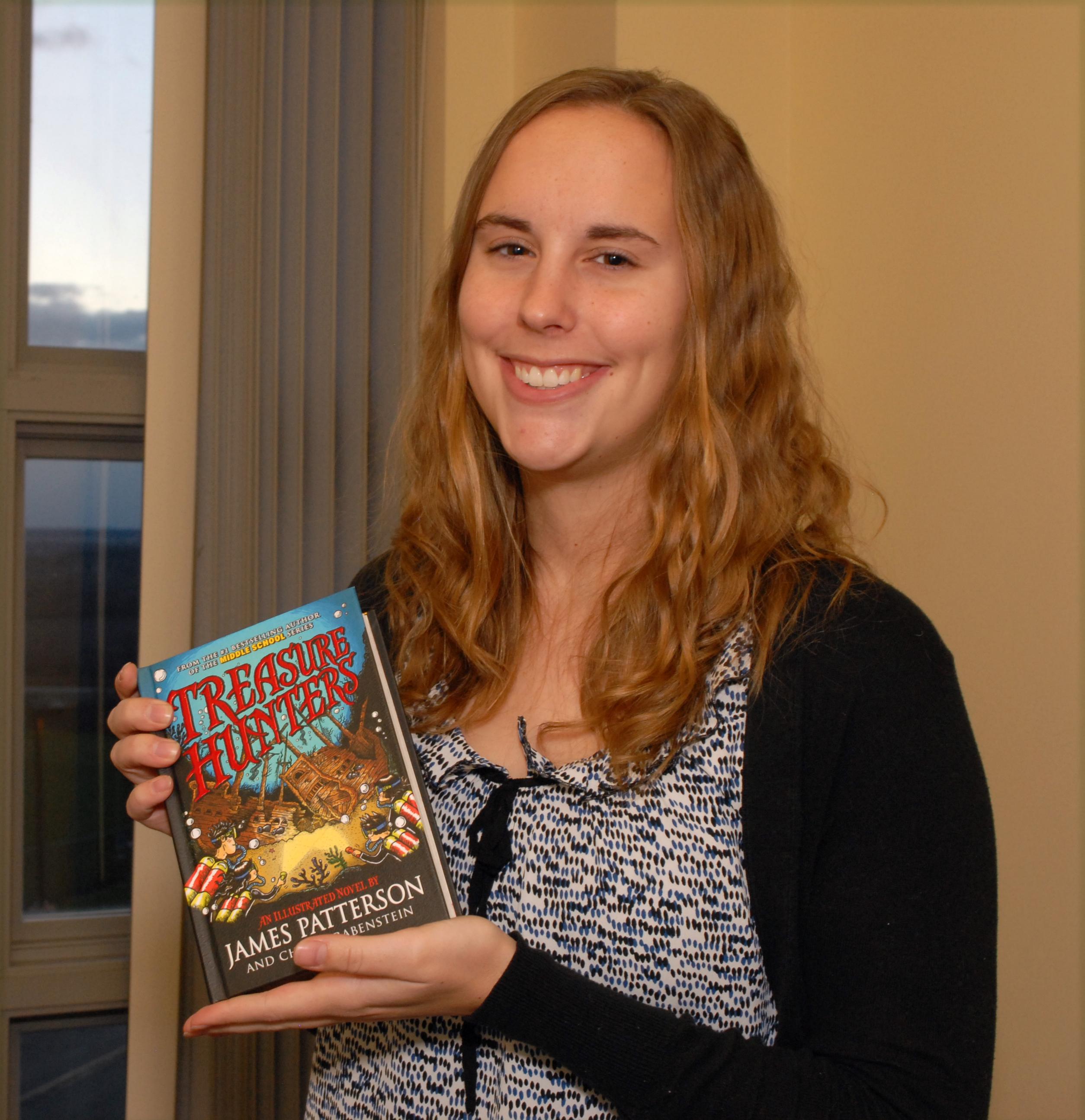 SUNY Geneseo Graduate Student Kristen Bondi from Dansville