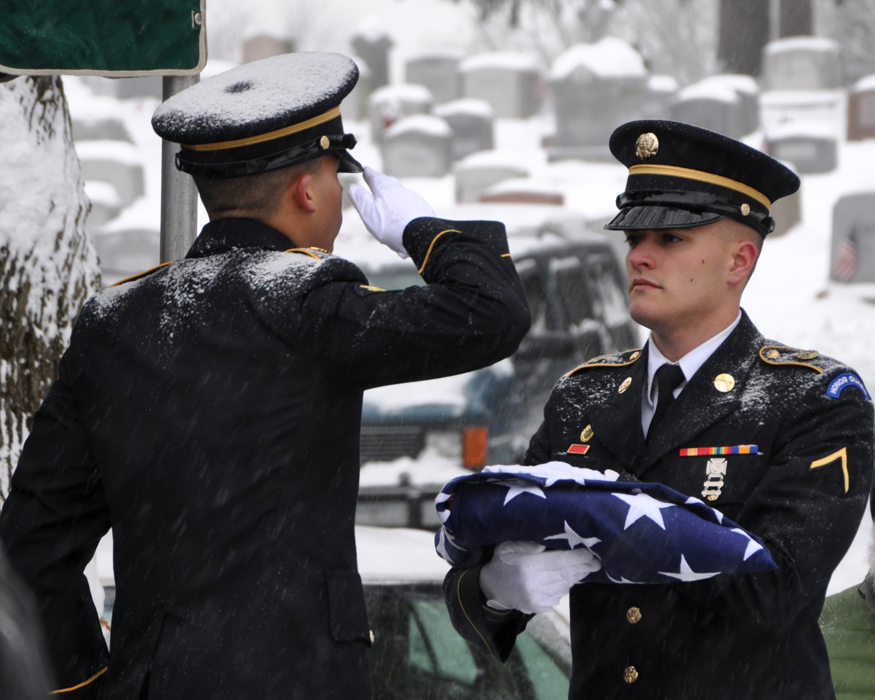Son of pearl harbor veteran finds that military funeral honors.