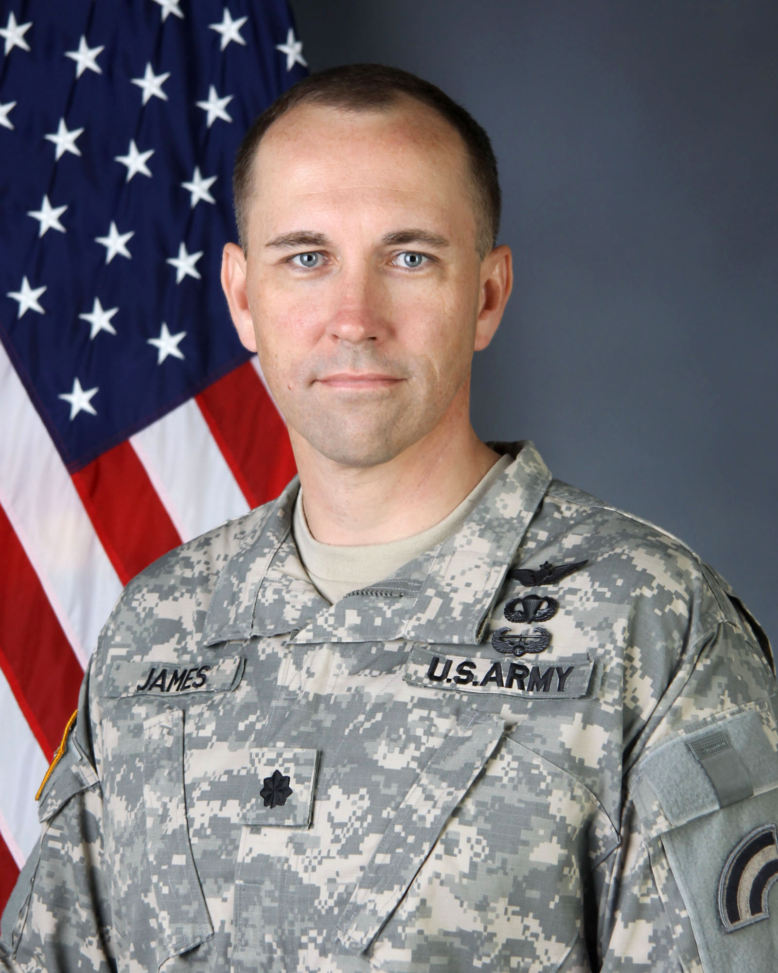 New York Army National Guard Lt  Col  Jack James named to