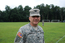 Col Richard Green A Saratoga Springs Resident Takes