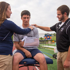 Athletic Training what are major subjects in college