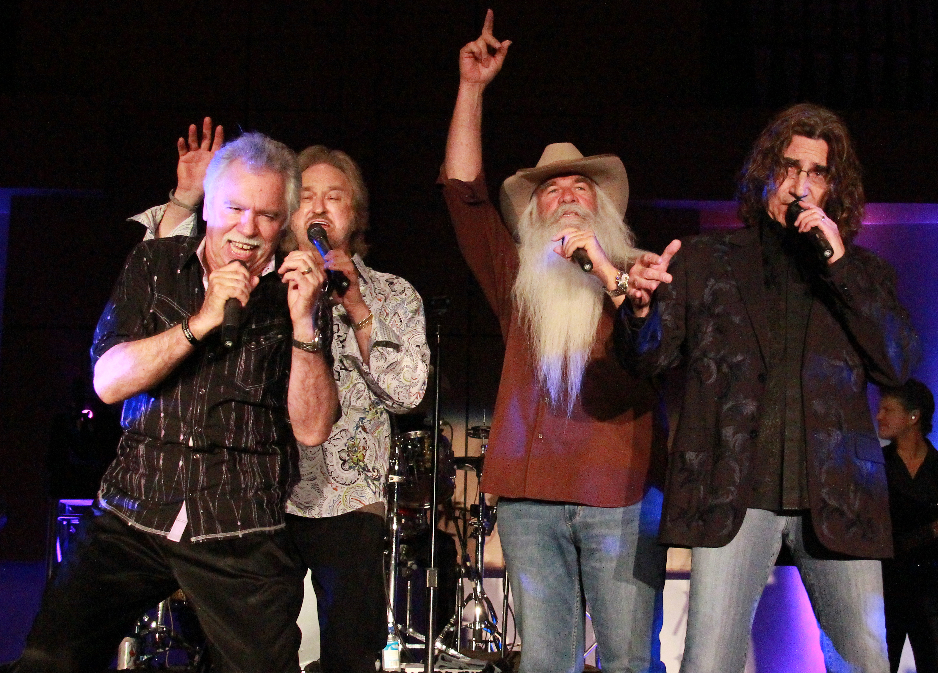 The Oak Ridge Boys to perform Christmas concert at CU\'s Ransdell ...