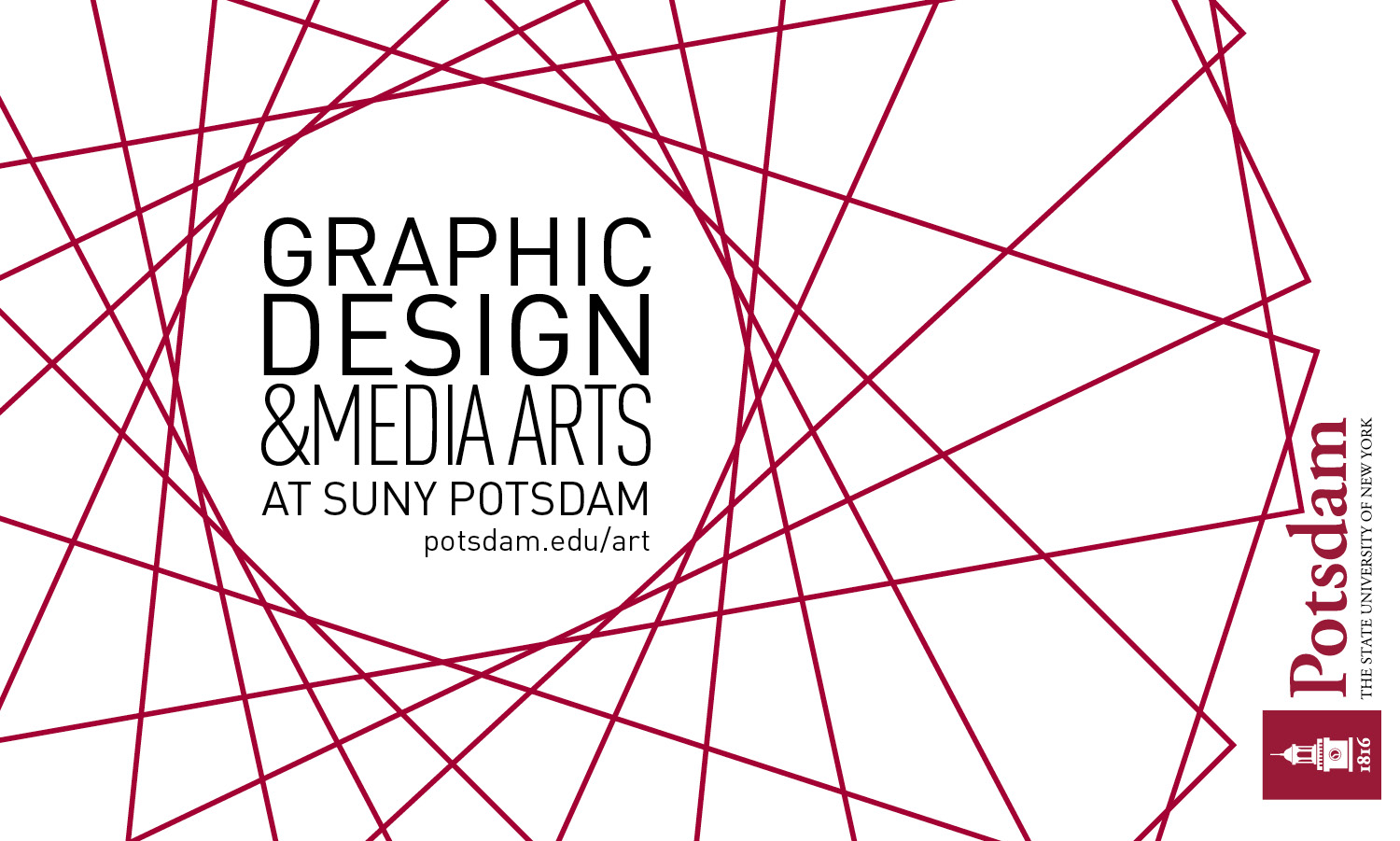 SUNY Potsdam Launches New Program in Graphic Design and Media Arts