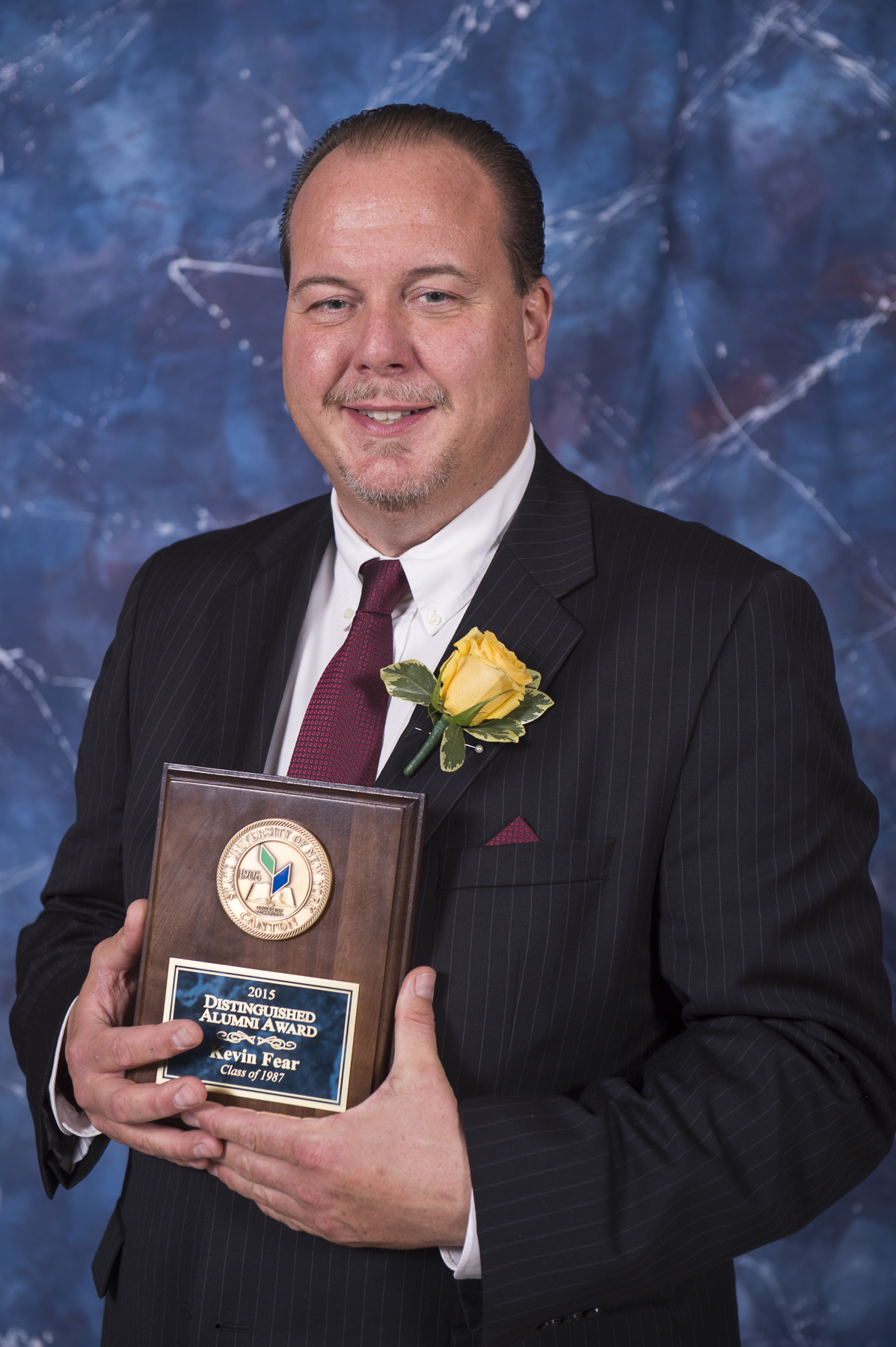 kevin fear received suny alumnus award - Mattress Express