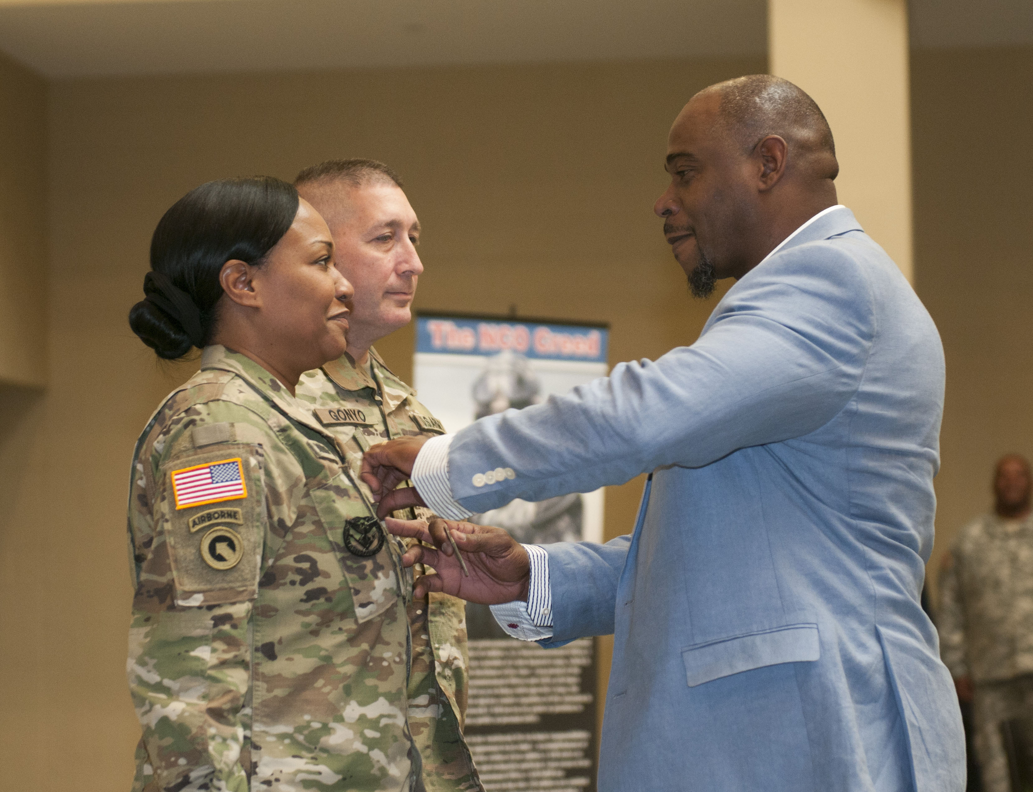 Westbury Resident Althea Robinson Haddo Becomes Command Sgt Major In New York National Guard