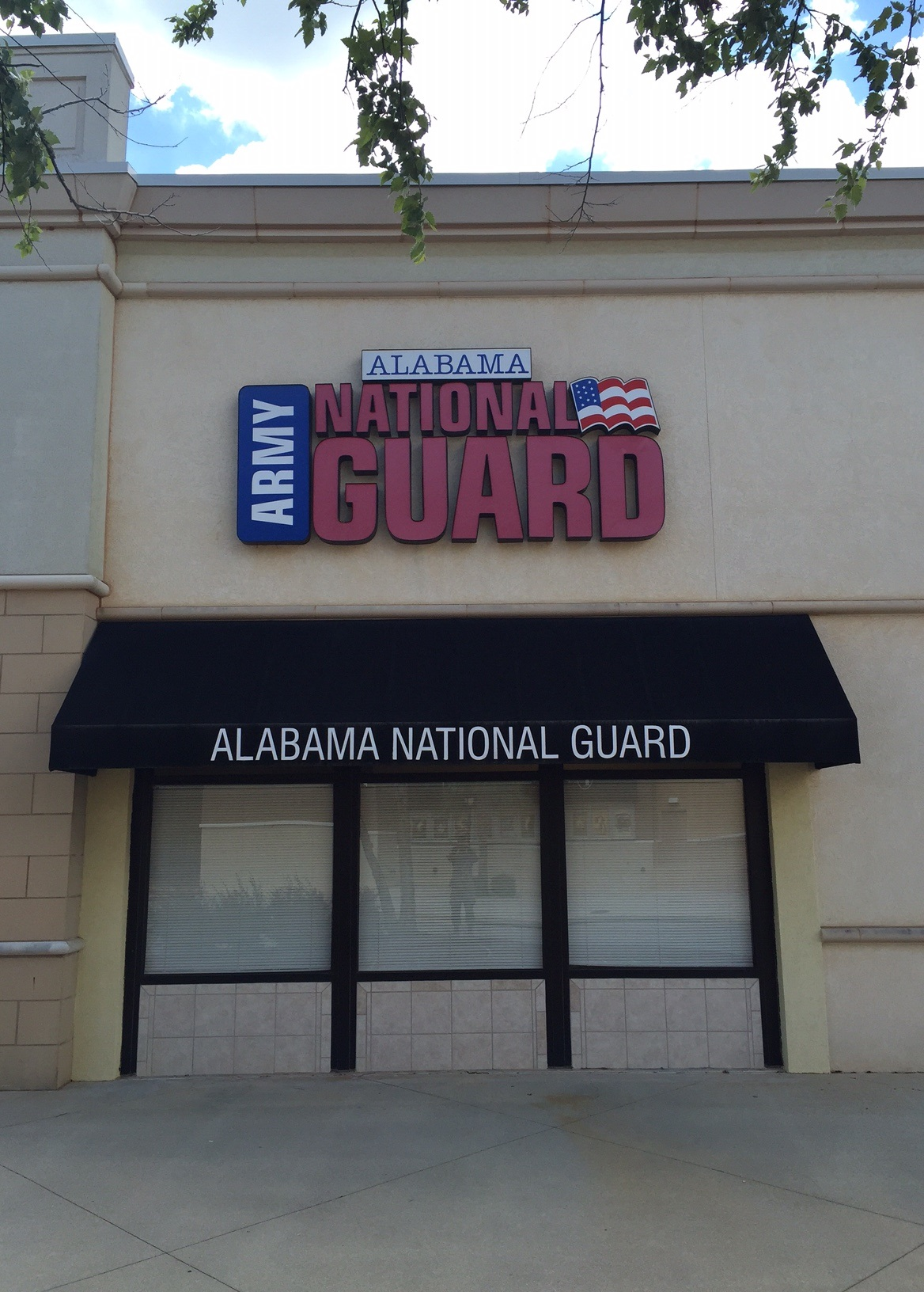 grand opening of al national guard recruiting store front location in spanish fort. Black Bedroom Furniture Sets. Home Design Ideas