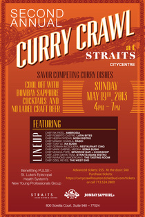 2nd curry crawl flyer