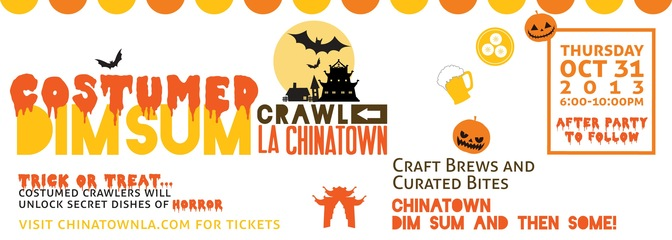 Costumed DimSum Crawl LA Chinatown