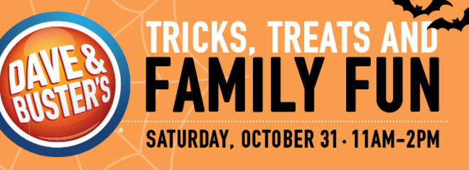 Halloween Festivals Dallas | Dave Buster S Family Halloween Event Dallas Buy Tickets In