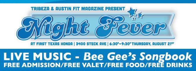 TRIBEZA and Austin Fit Magazine Present: Night Fever | Buy
