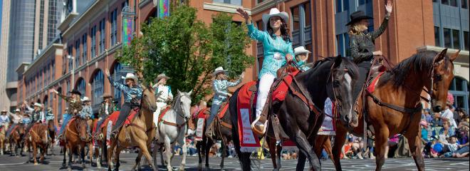 Rotary Centennial Hosts Calgary Stampede Parade 2017