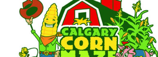 12 calgary corn maze logo
