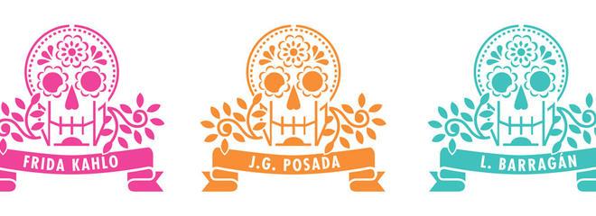 Vivalavida logo stencils