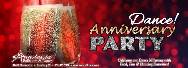 Anniversary party annastassia ballroom