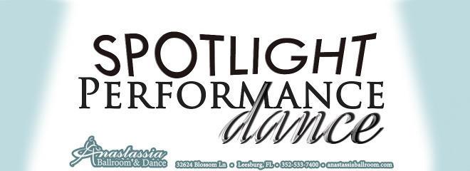 Spotlight show anastassia ballroom