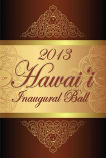 2013 hawaii inaugural ball packet p.1