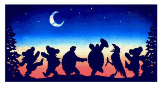 Halloween image silouetts