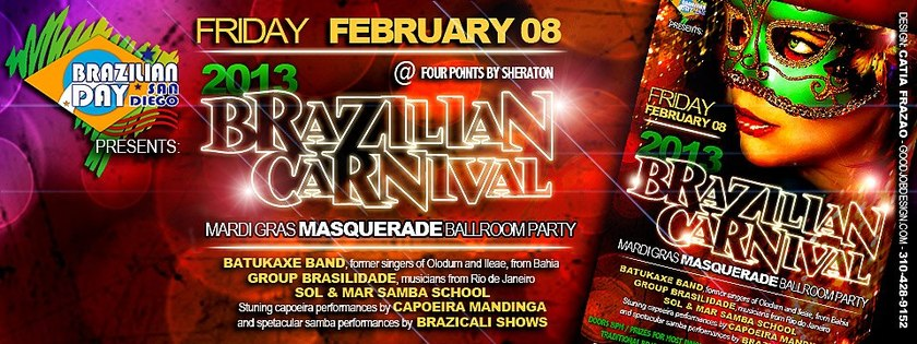 Brazilian Masquerade Ballroom Carnival | Buy Tickets in ...