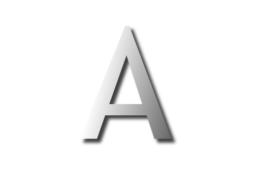 Letter a 01