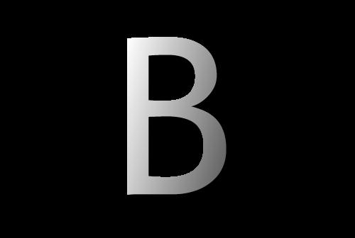 Letter b 01