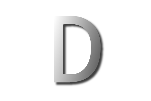Letter d 01