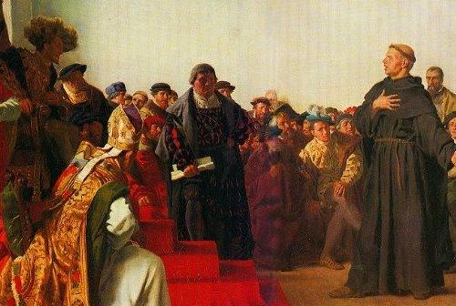 Luther at the diet of worms small