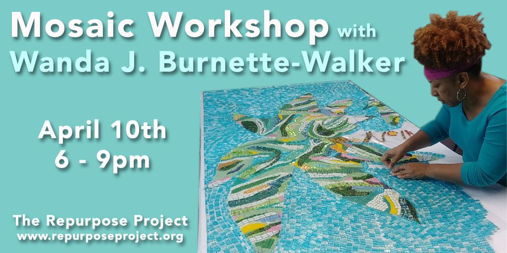 Wanda mosaic workshop
