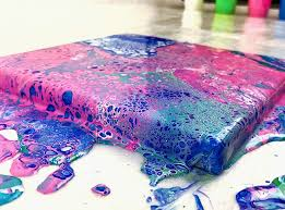 Paint pouring 2