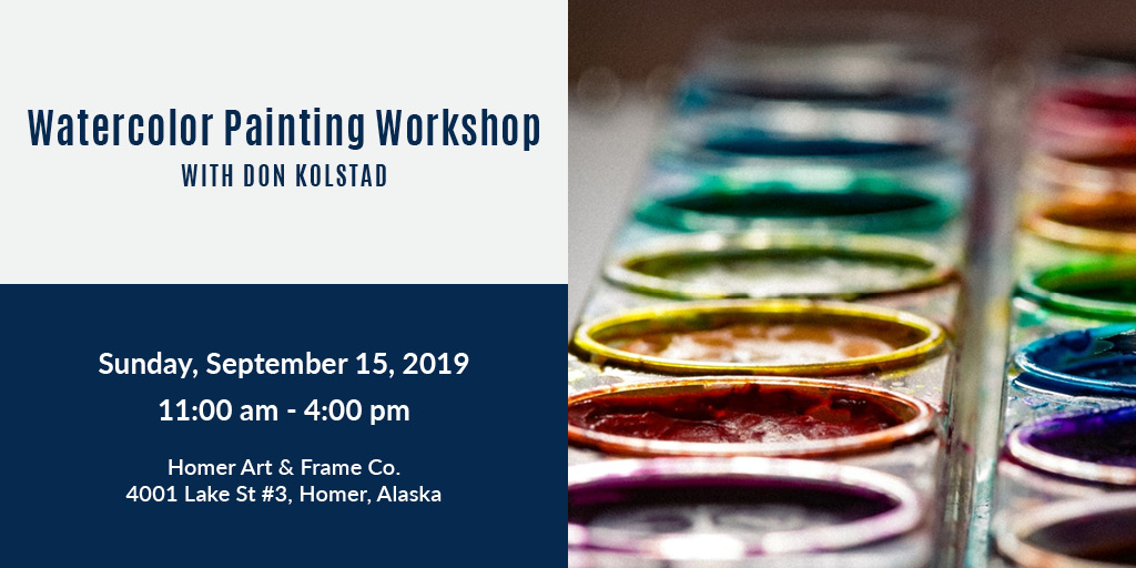 21 watercolor painting workshop