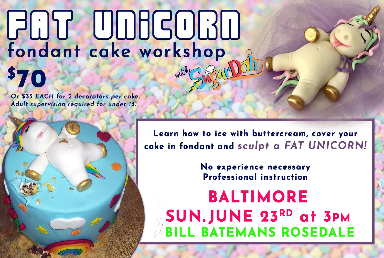 Fat unicorn tbjune bmore