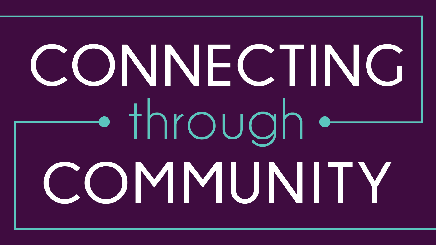 Connecting through community logo