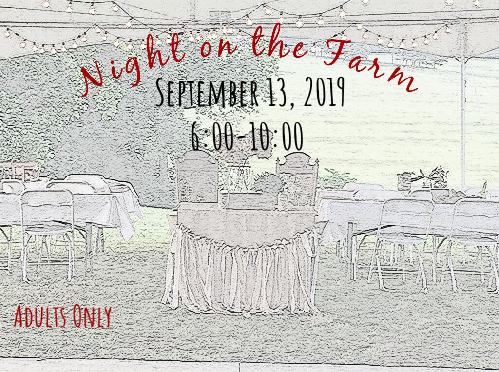 Night on the farm