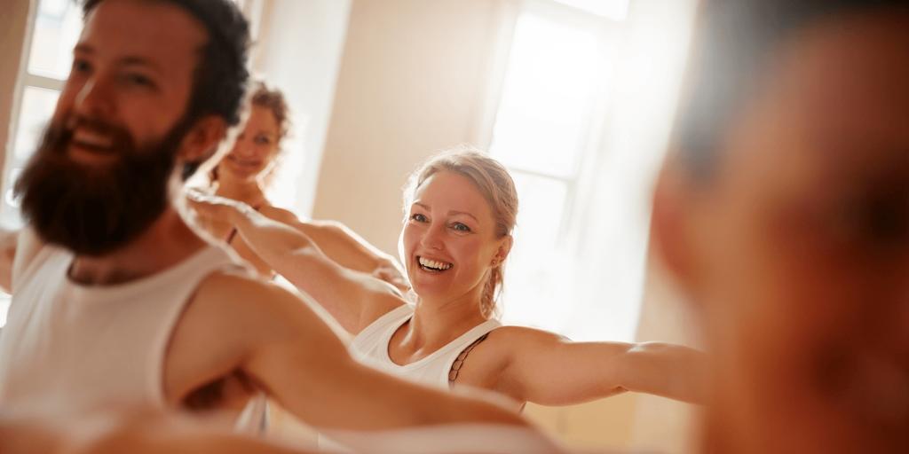 Group yoga 2