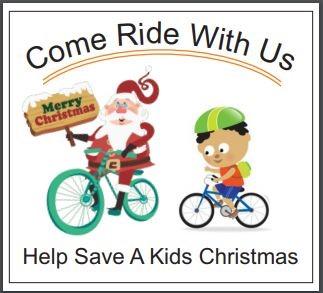 Come ride with us   santa