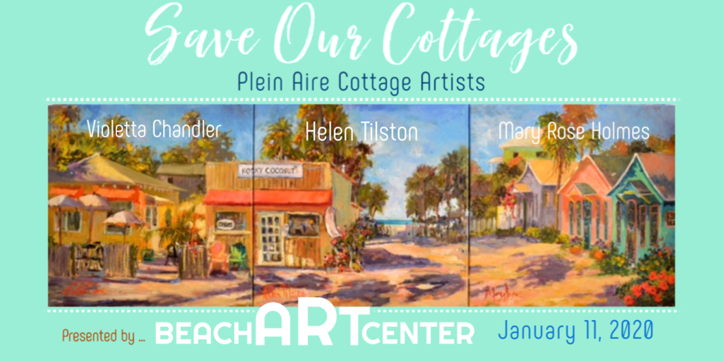 Save our cottages event banner