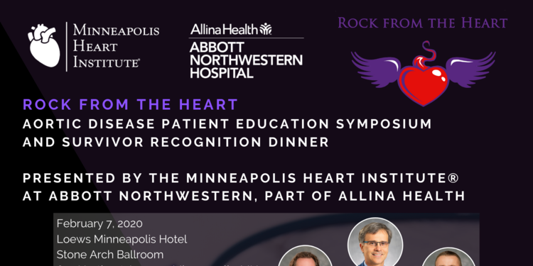 Rock from the heart and the minneapolis heart institute presnt