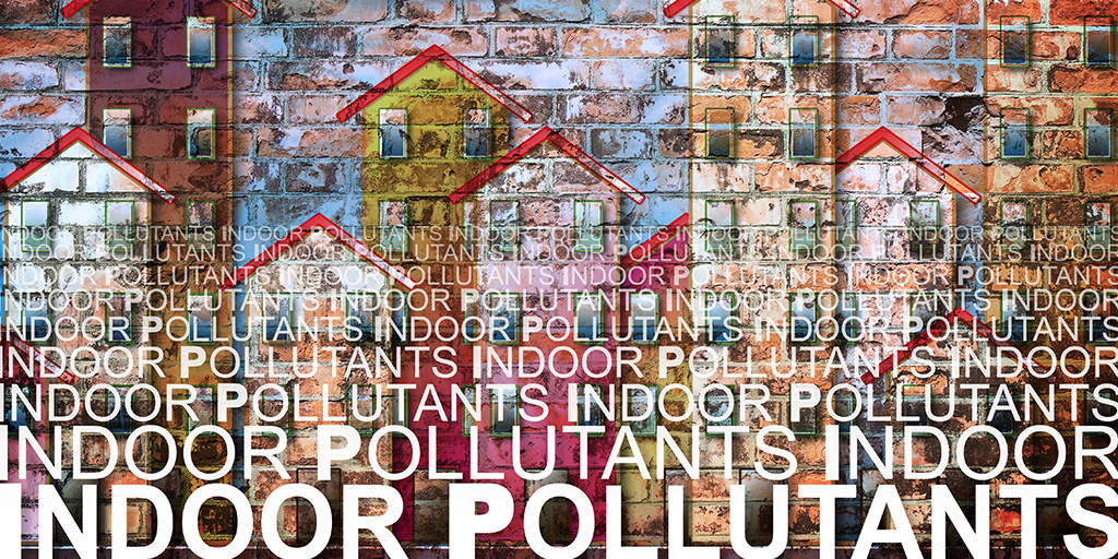 Graphic indoor pollutant